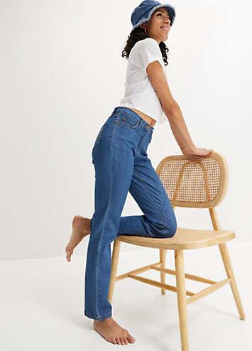 straight stretch jeans by john baner jeanswear bonprix. Black Bedroom Furniture Sets. Home Design Ideas