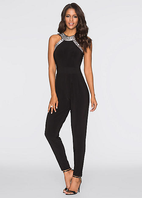 Embellished Jumpsuit by BODYFLIRT boutique