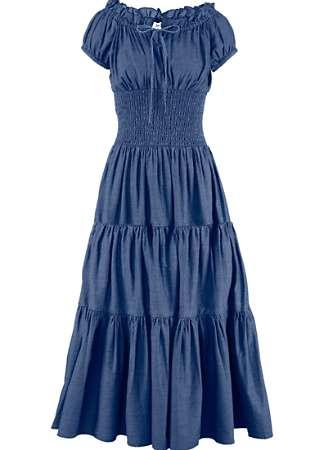 Tiered Gypsy Maxi Dress